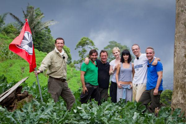 Photo Olivier Pirard , Pekin Express RTL, La route des Volcans